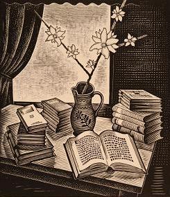 Ξυλογραφία Γιώργου Μόσχου (1939)